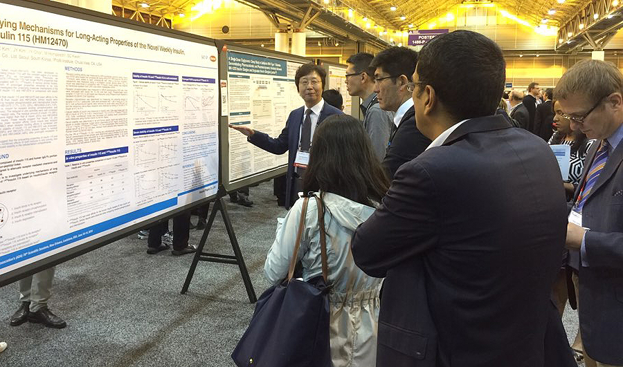 Hanmi presented the research results of long acting diabetes-obesity medicines at ADA.